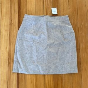 Jcrew factory wool skirt NWT